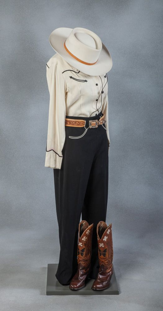 Vintage Cowgirl Outfit / Hulbert / Shipley