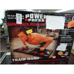 Power Press Complete Push-Up Sytem
