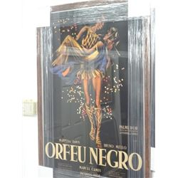 Framed Poster of Orfeunegro