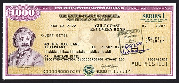 Buying U.S. Savings Bonds