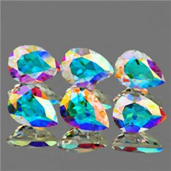 LOT OF 5.18 CTS OF TOP MOONGLOW RAINBOW TOPAZ