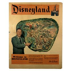 Disneyland Pre-Opening Los Angeles Times news supplement July 15, 1955.