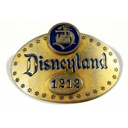 First year Disneyland cast member ID badge .