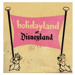 Holidayland gate poster fragment .