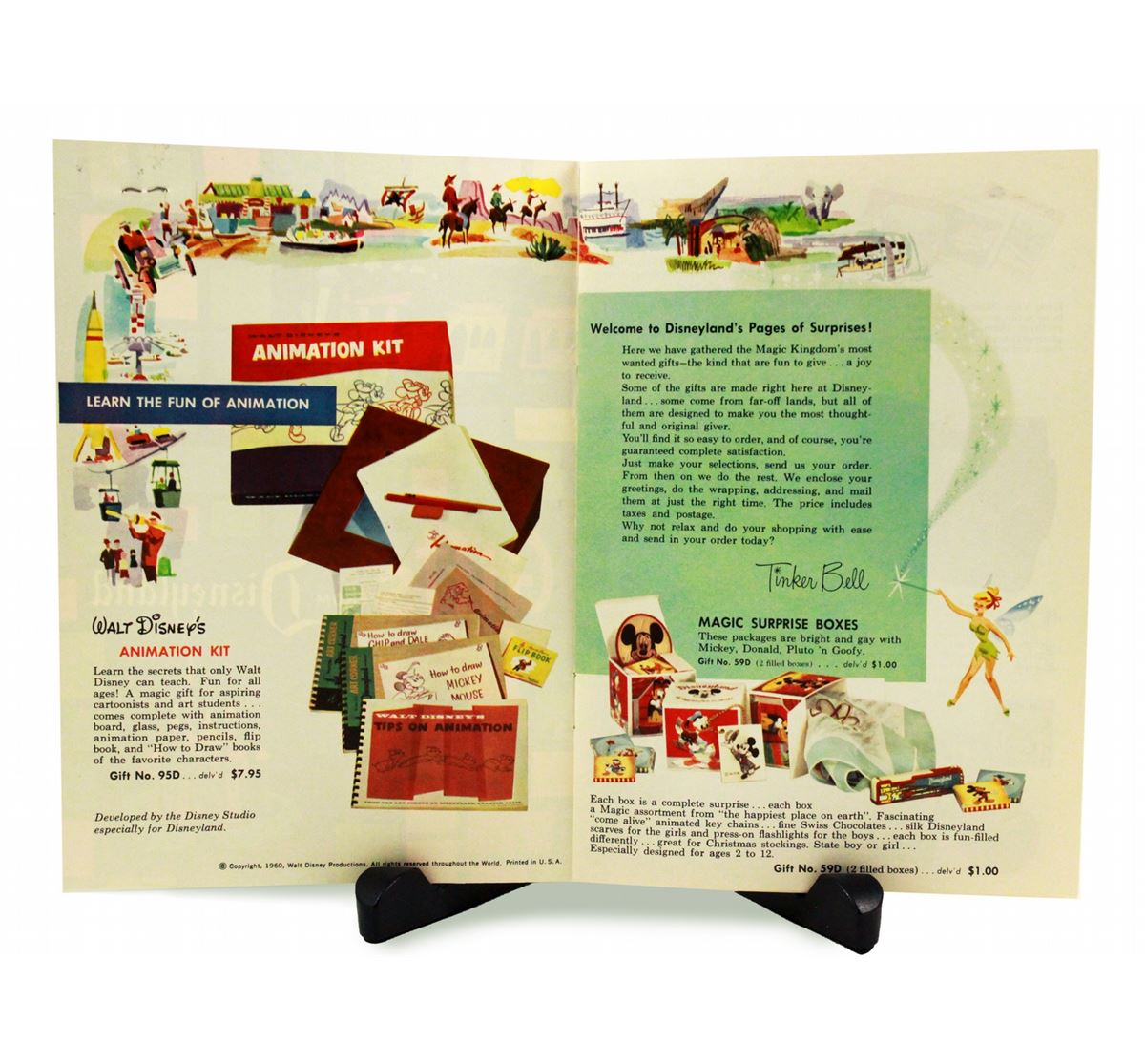 image 4 gifts from disneyland mail order catalog - Christmas Mail Order Catalogs