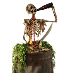 Pirates of the Caribbean original cursed drinker prop.