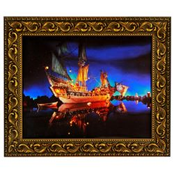 Pirates of the Caribbean limited edition lenticular photo.