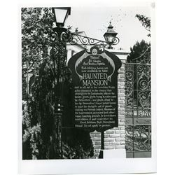 """Haunted Mansion """"Ghost relations"""" publicity photo"""