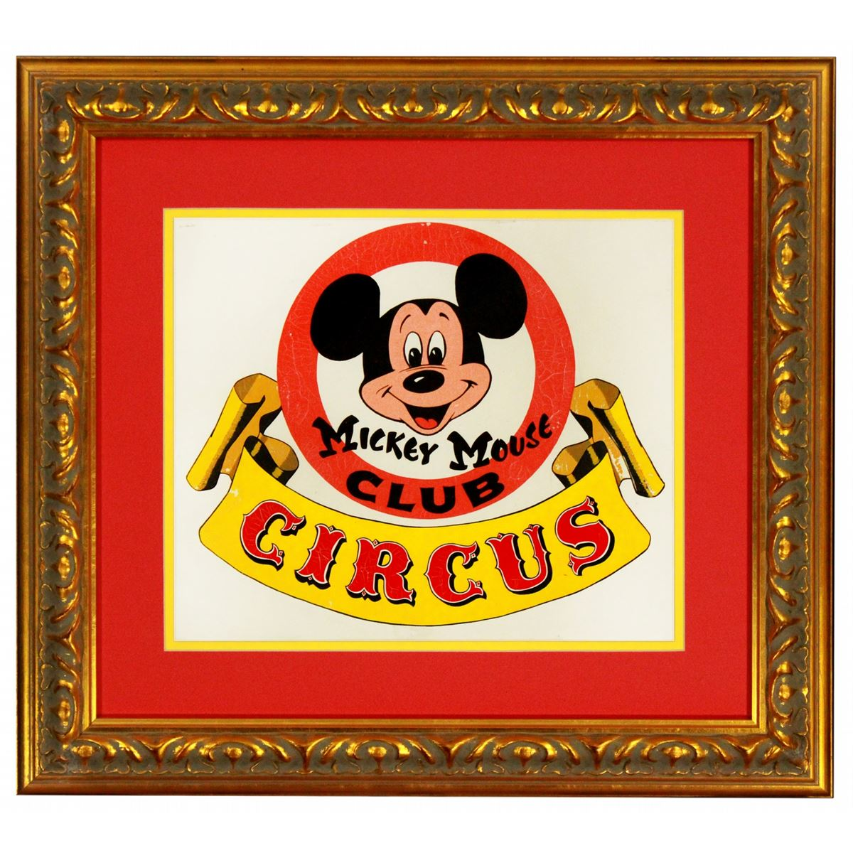 original bruce bushman design painting for the mickey mouse club