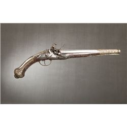 "Middle Eastern Flintlock Pistol, 11 ½"" barrel"