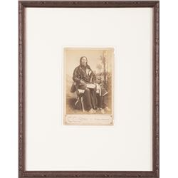 Christopher Charles Stotz Pair of Cabinet Cards