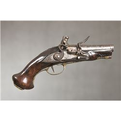 "European Pocket Flintlock Pistol, 7 ½""overall length"