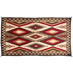 "Navajo Floor Sized Rug, 11'6"" x 6'6"""