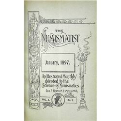 1897 Volume of the Numismatist
