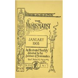 1903 Volume of the Numismatist