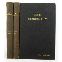 1927 Volume of the Numismatist