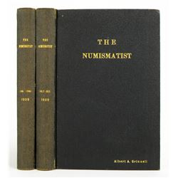 1928 Volume of the Numismatist