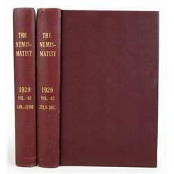 1929 Volume of the Numismatist