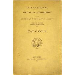 1910 ANS Exhibition Catalogue: Medals