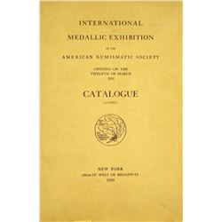 1910 ANS Exhibition Catalogue: Coins