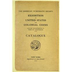 The 1914 ANS Exhibition Catalogue
