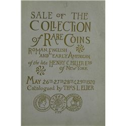 The 1920 Miller Sale, Priced