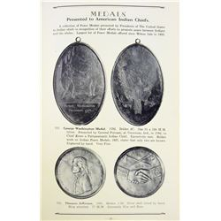 Scarce Sale of Indian Peace Medals