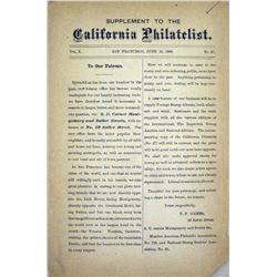 The California Philatelist