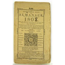 Nathanael Low's Almanack for 1807, with Monetary Tables, &c.