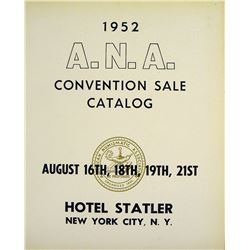Outstanding 1952 ANA Sale