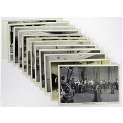 Set of Twelve 1915 Postcards of the Royal Canadian Mint