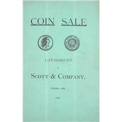 Scott's 1878 Jones Sale