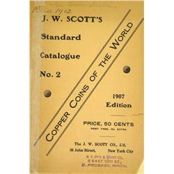 1907 Scott Catalogue on World Copper