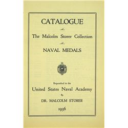Catalogue of Storer's Naval Medals
