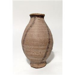 Egyptian Old Kingdom ovoid ceramic jar