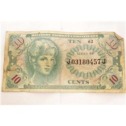 VIETNAM ERA MILITARY FRACTIONAL CURRENCY