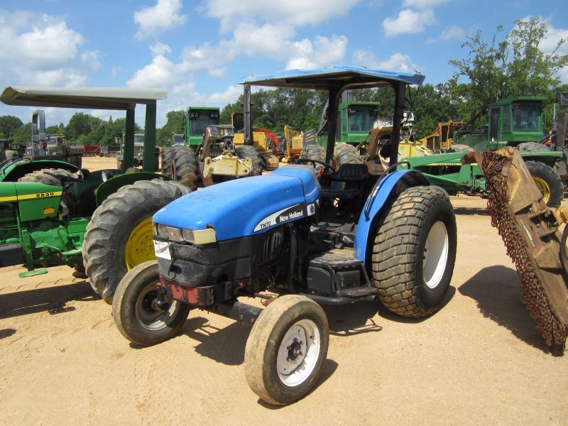 Image 1  NEW HOLLAND TN70 FARM TRACTOR S/N 001278190 3PTH ... & NEW HOLLAND TN70 FARM TRACTOR S/N 001278190 3PTH PTO 2 HYD ...