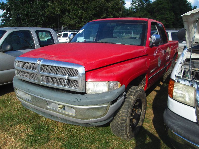 1997 dodge ram 1500 4x4 extended cab pickup s n 3b7hf1326vg724439 v8 gas a t odometer. Black Bedroom Furniture Sets. Home Design Ideas