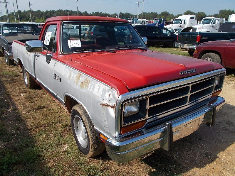 1990 Dodge Ram Le 150 Pickup S N 1b7ge16y7ls736803 Gas Eng A T