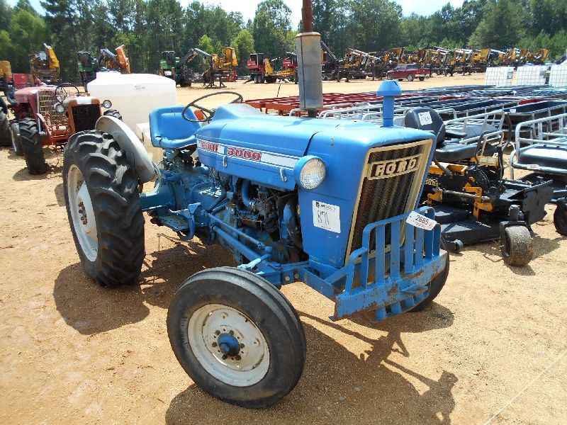 Ford 3000 Farm Tractor : Ford farm tractor s n c pth pto does not