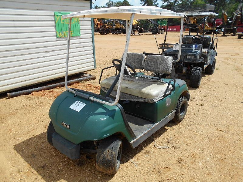 Yamaha elect golf cart s n jn8502203 j m wood auction for Yamaha montgomery al