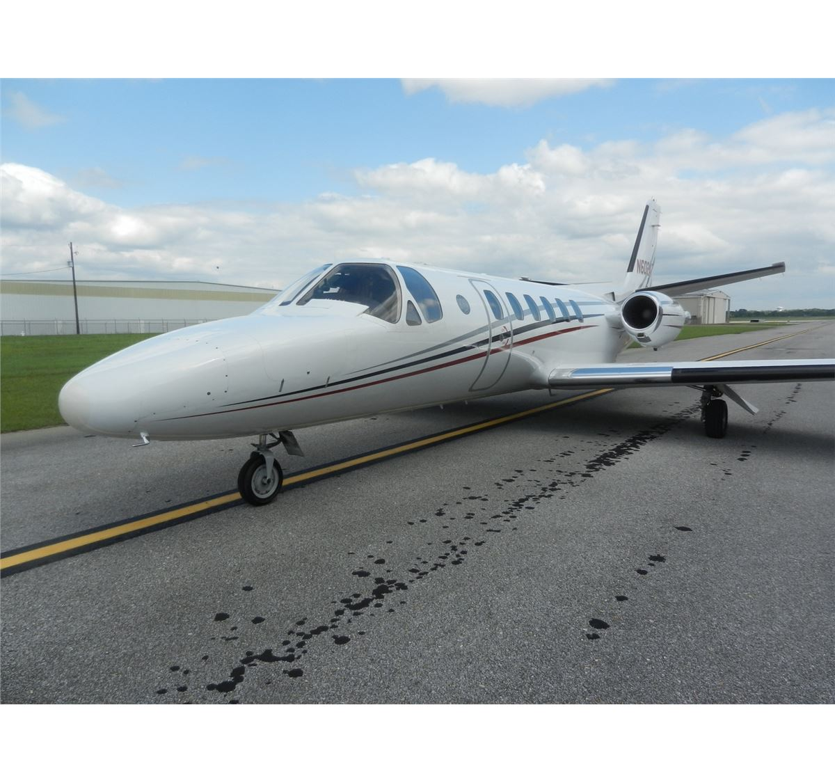 1989 CESSNA 550 CITATION II AIRCRAFT, S/N 5500606, 20,936 HOURS, COMES WITH  TOW BAR, AIRCRAFT HYDRAU