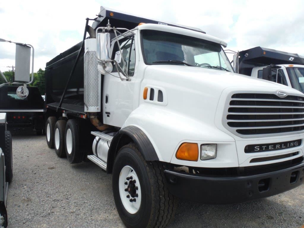 2004 sterling tri axle dump truck s n 2fzhazcv64am94261 for Mercedes benz sterling
