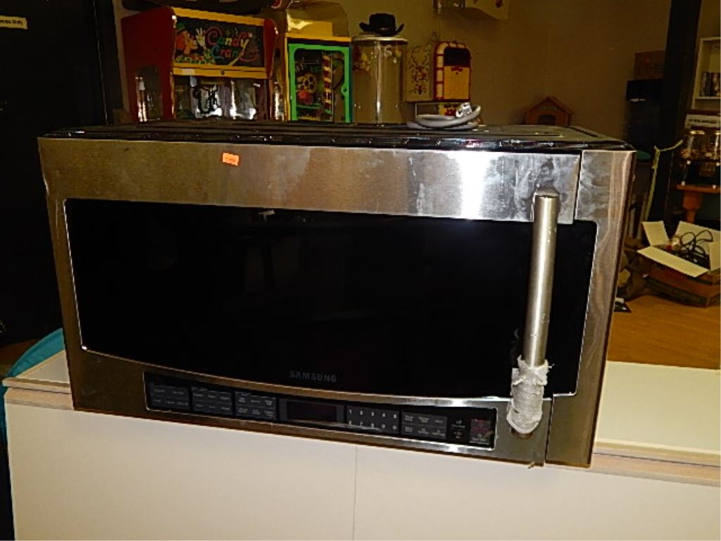 Image 1 samsung under counter microwave new model smh2117 xac 2014