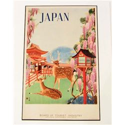 JAPAN MUSEUM GRADE GICLEE CANVAS 8X10 PRINT