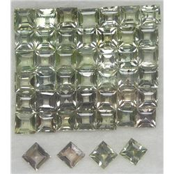 LOT OF 3.18 CTS. OF LIGHT GREEN AFRICAN SAPPHIRE