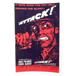 ATTACK MOVIE POSTER PRINT - 11X17