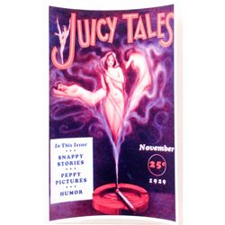 "BAYARD DE MEIL JUICY TAILS PINUP GIRL POSTER PRINT APPROX. 11"" X 17"""