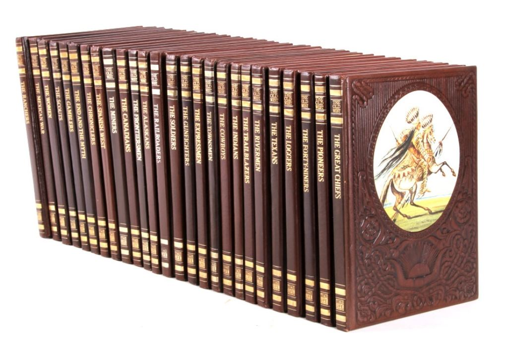 Time Life Old West Book Collection This Is A Compl