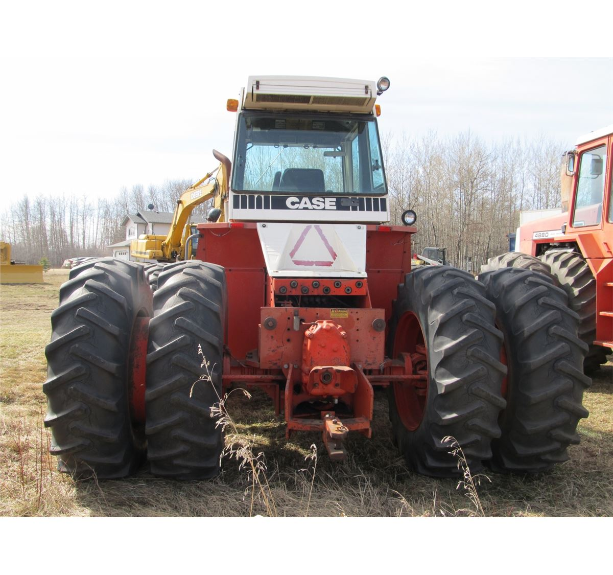 Case 4490 Tractor : Case wd cahr tractor